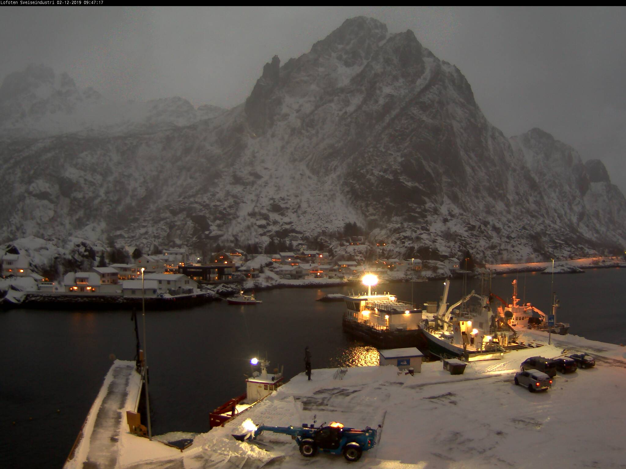 Webcam For The Port Of Svolvaer